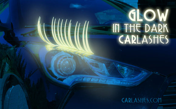 Glow-In-The-Dark CarLashes®