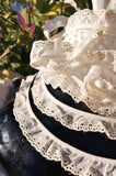Ruffled Eyelet Lace Embroidery Edging
