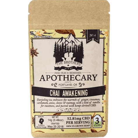 Chai Awakening Hemp CBD Tea texas, houston