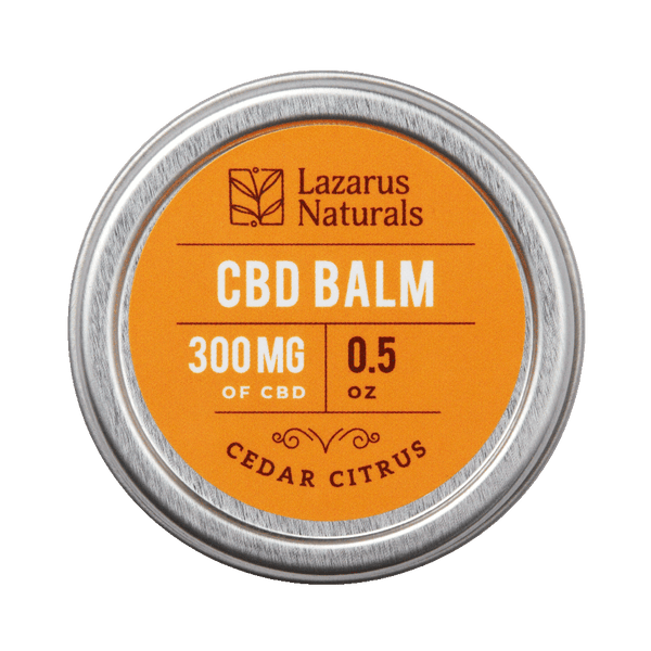 Cedar Citrus Balm 0.5oz 300mg CBD texas, houston