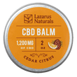 Cedar Citrus Balm 2oz 1200mg CBD texas, houston