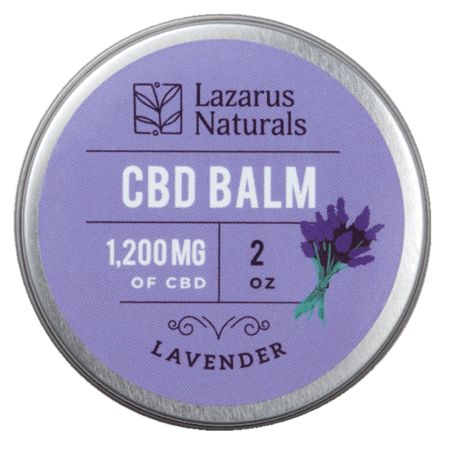 Lavender Balm 2oz 1200mg CBD texas, houston