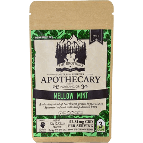 Mellow Mint Hemp CBD Tea texas, houston