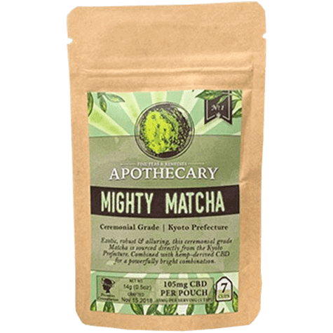 Mighty Matcha CBD Matcha texas, houston