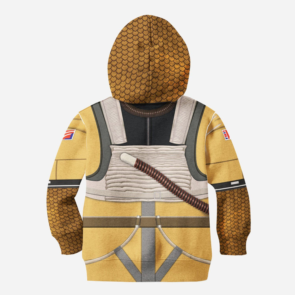 Bossk for Kid - HOT SALE 3D PRINTED - NOT IN STORE