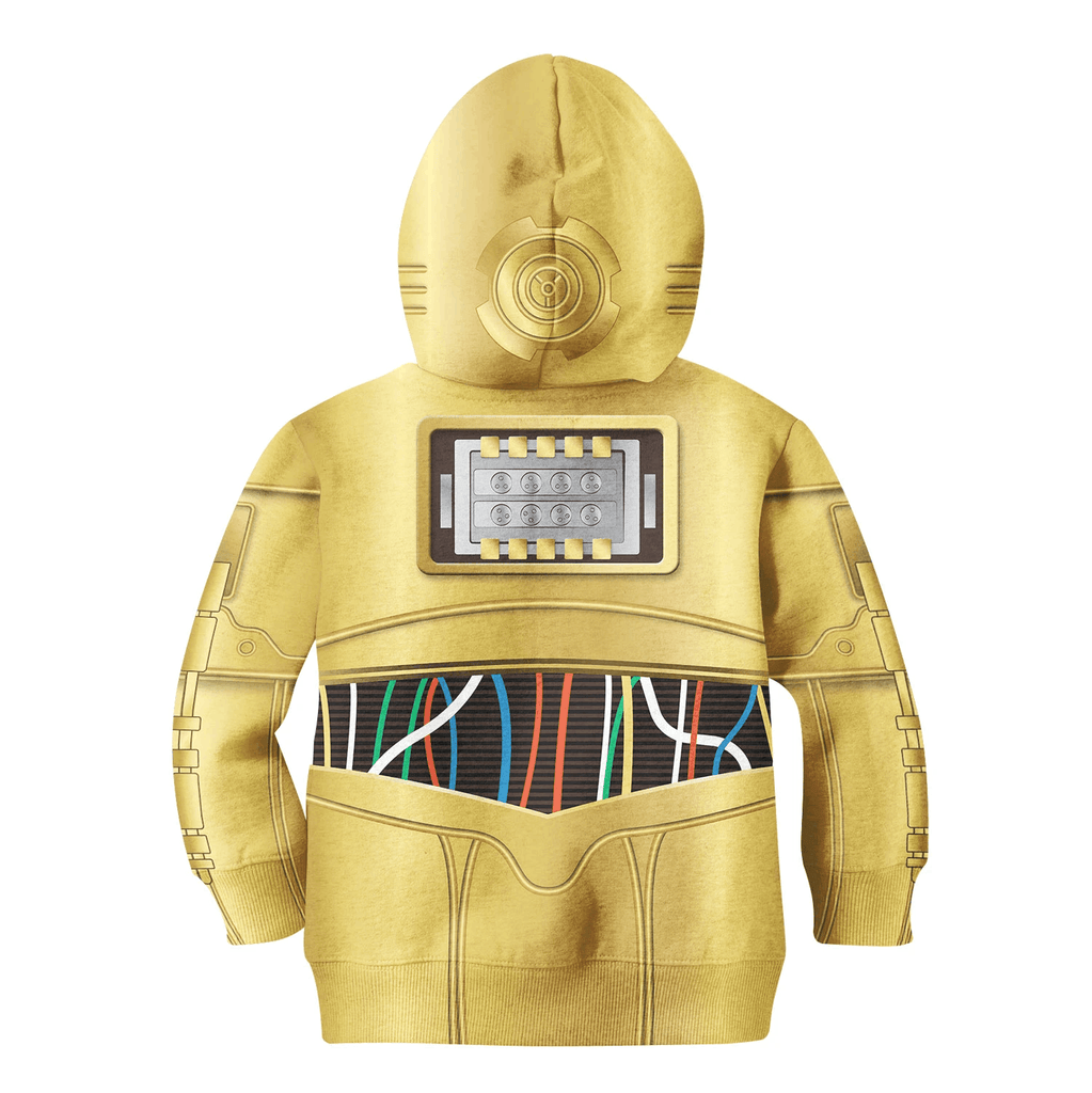 C3PO for Kid - HOT SALE 3D PRINTED