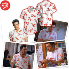SEINFELD HAWAIIAN SHIRT & SHORTS 001