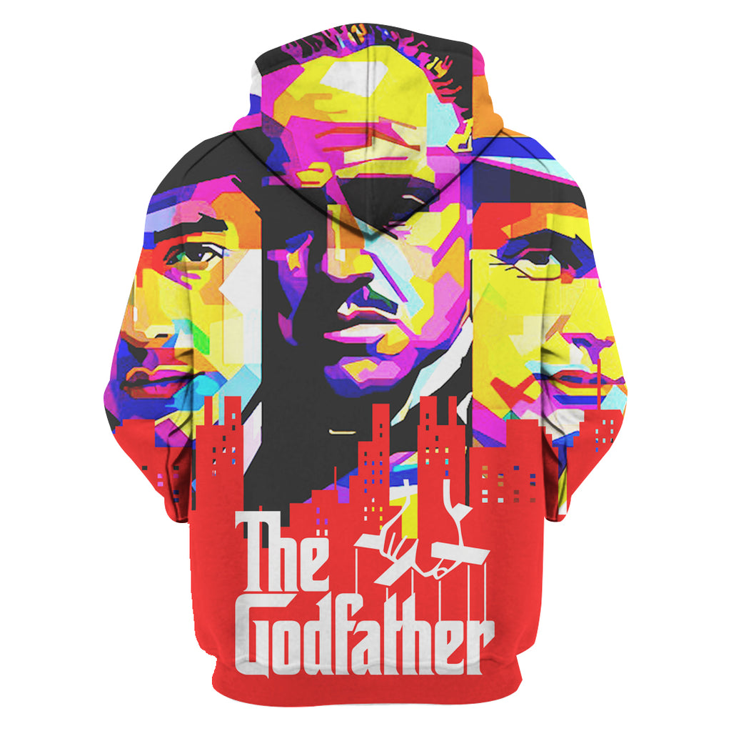 ZAC-Godfather07 - HOT SALE 3D PRINTED - NOT IN STORE