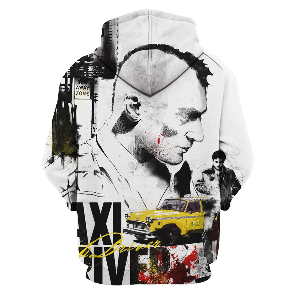 ZAC-TAXIDRIVER10 - HOT SALE 3D PRINTED - NOT IN STORE