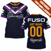 Image of Melbourne Storm - Customize Name & Number