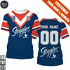 Image of Sydney Roosters - Customize Name & Number