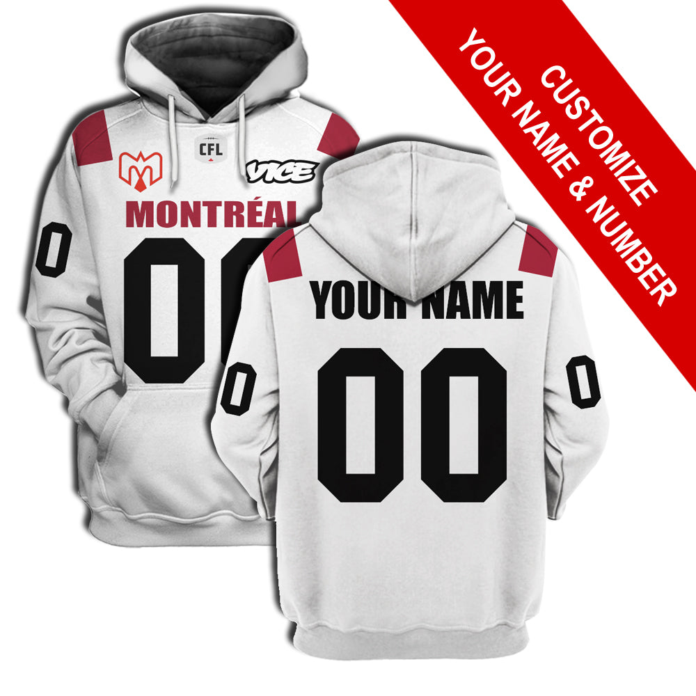 Montreal Alouettes Away Jersey