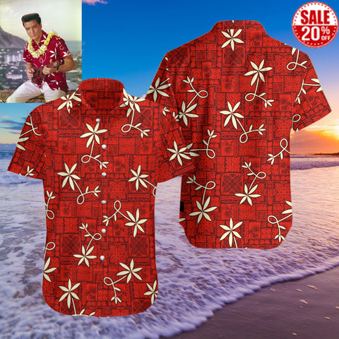 Elvis-Presley | Blue Hawaii | Unisex Hawaiian shirt & shorts