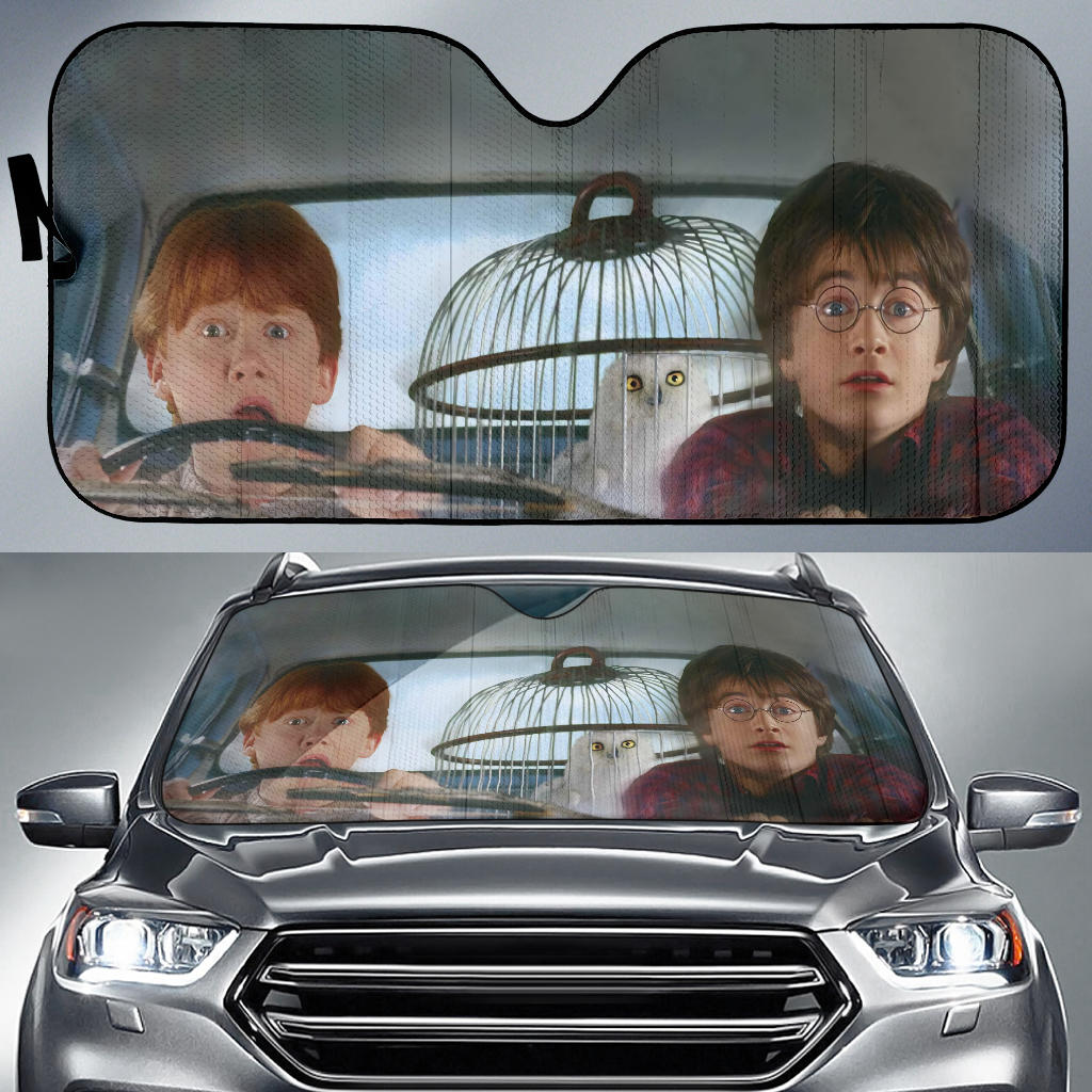 Harry Potter - LIMITED EDITION AUTO SUN SHADES