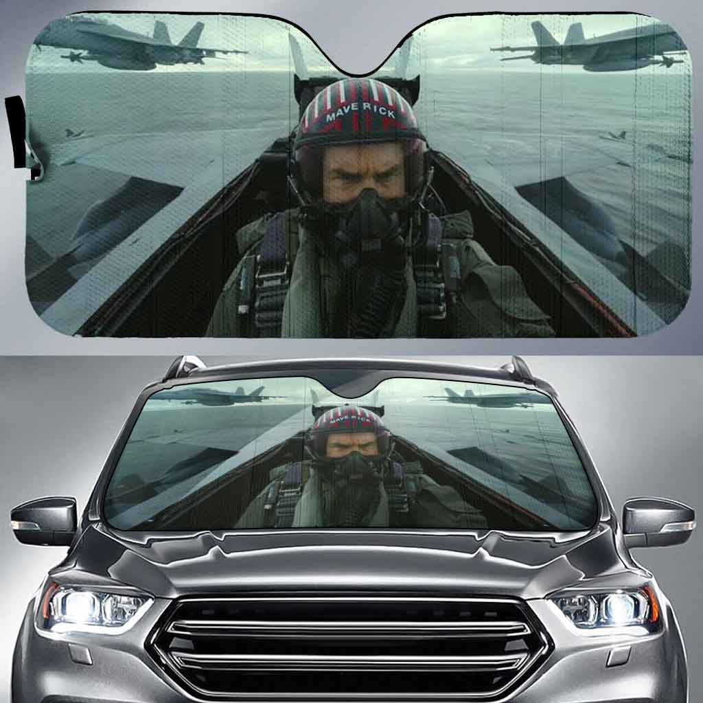 Top gun 1-AssTG001 - LIMITED EDITION AUTO SUN SHADES