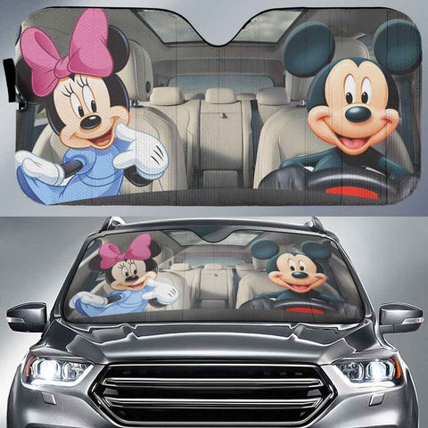 Mickey&Minnie-AssMK001 - LIMITED EDITION AUTO SUN SHADES