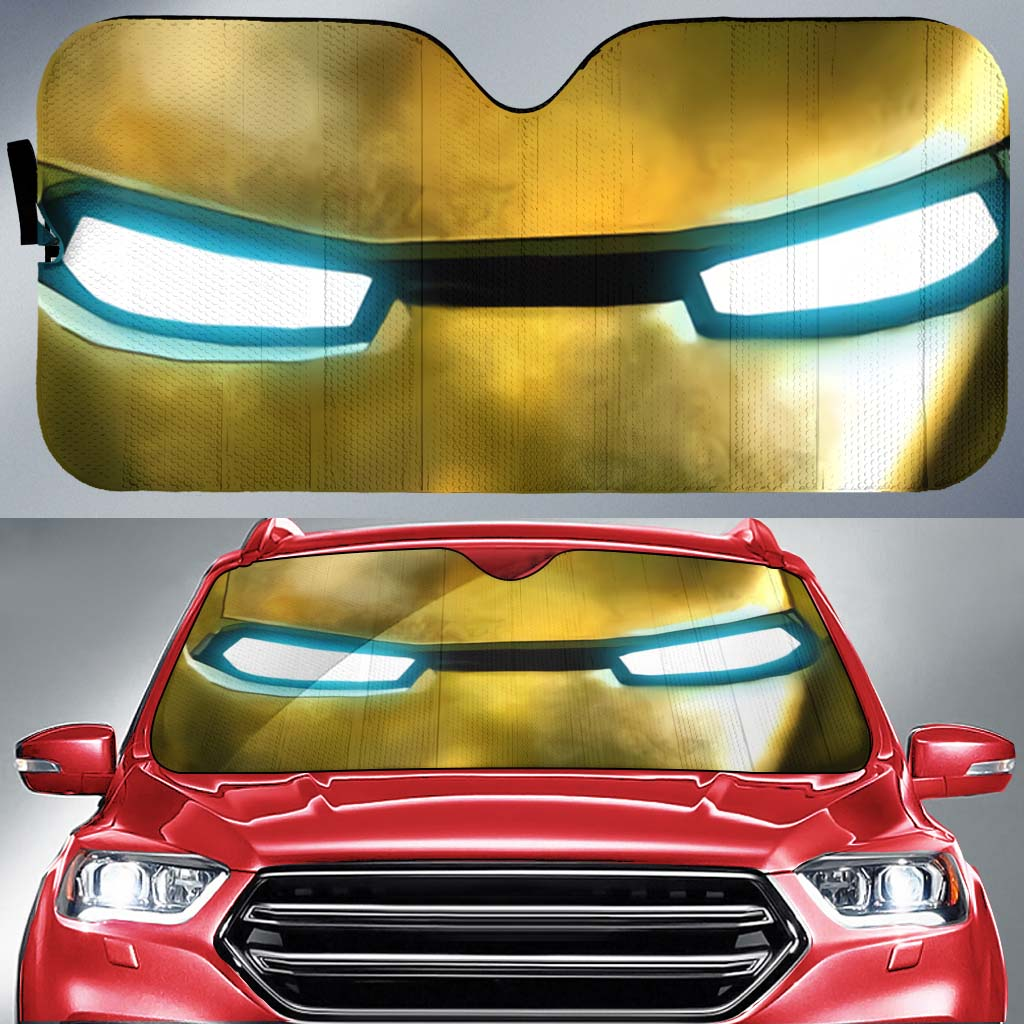 Iron Man 1-ZacIron001 - LIMITED EDITION AUTO SUN SHADES