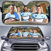 Image of Cronulla-Sutherland Sharks-ASNRL005 - LIMITED EDITION AUTO SUN SHADES