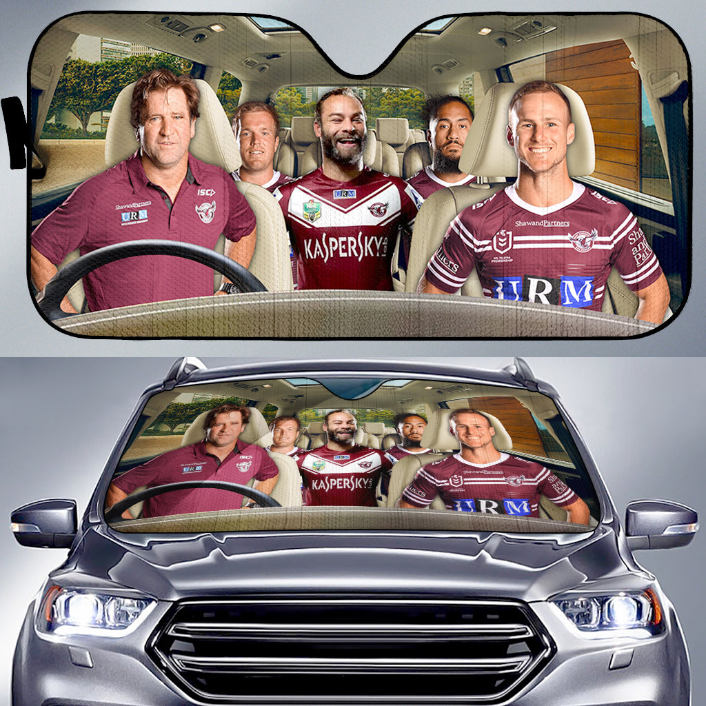 Manly Warringah Sea Eagles-ASNRL006 - LIMITED EDITION AUTO SUN SHADES