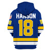 Image of Hanson Brothers #18 Blue