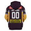 Image of Brisbane Broncos - Customize Name & Number