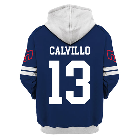 Anthony Calvillo ver1-CFLMon001 - HOT SALE 3D PRINTED - NOT IN STORE