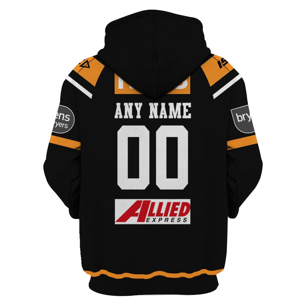 Wests Tigers - Customize Name & Number