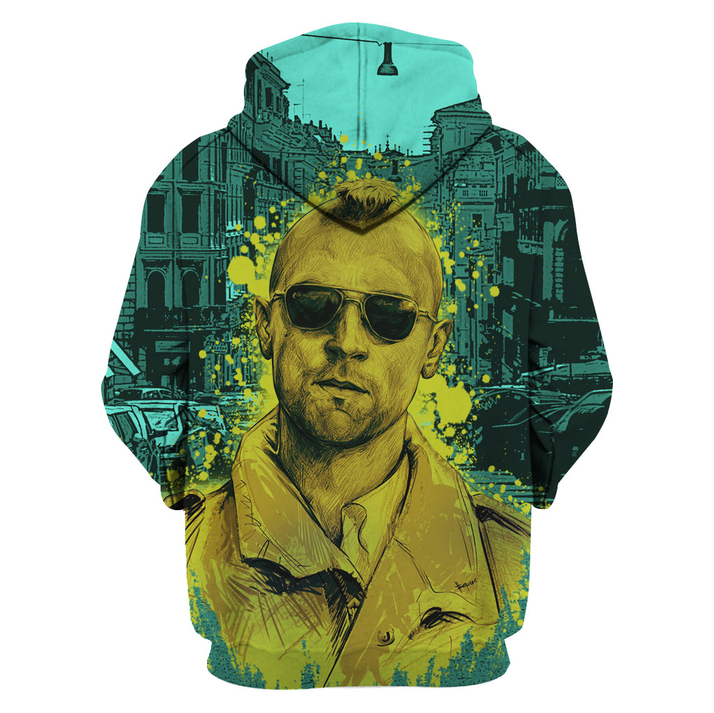 ZAC-TAXIDRIVER08 - HOT SALE 3D PRINTED - NOT IN STORE