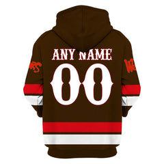 The Warriors Brown ver.1 - Customize your name & number