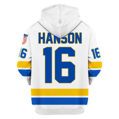 Hanson Brothers #16 White