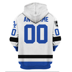 LA Kings Dodger Customize Name & Number - White Jersey