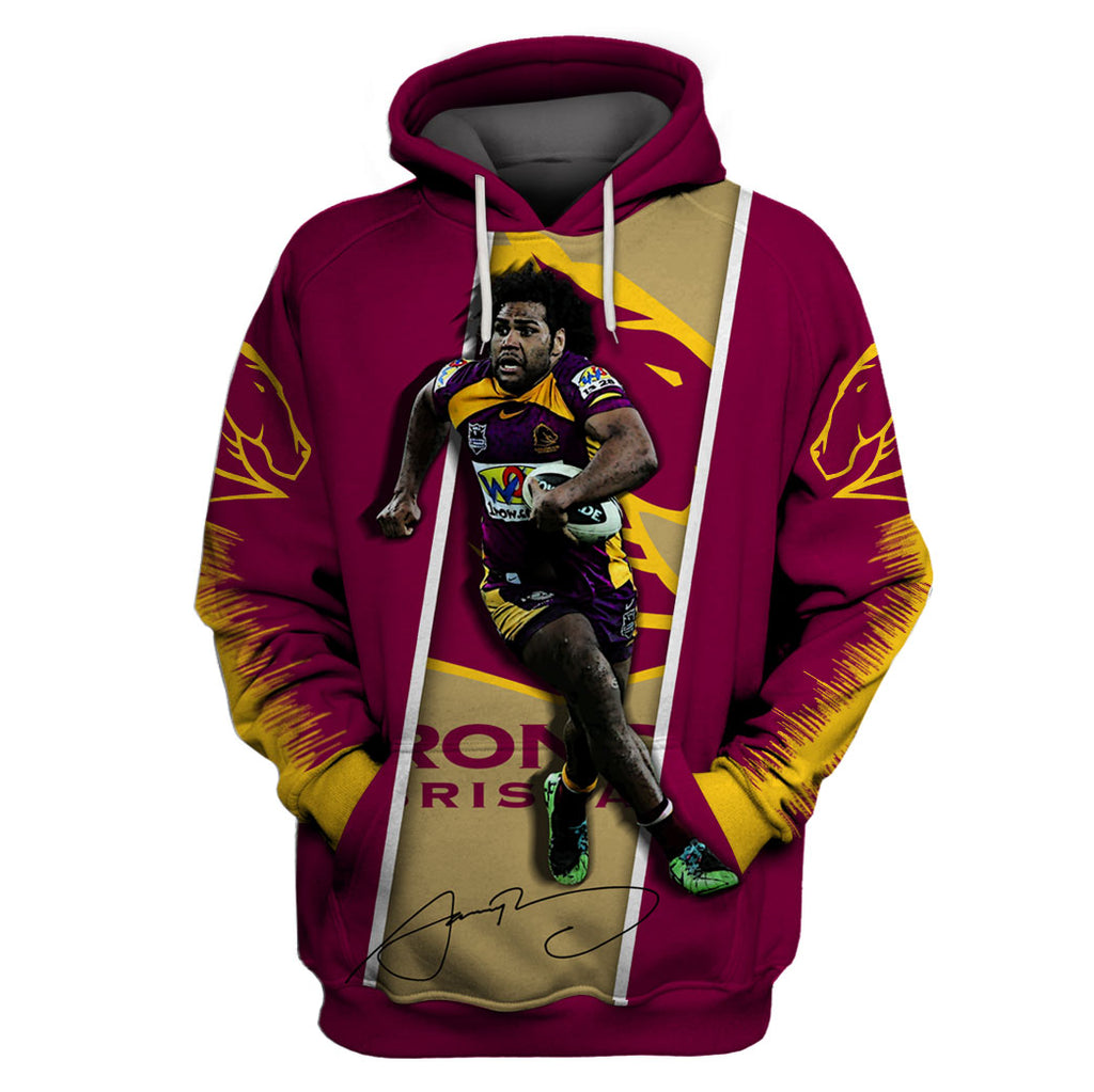 Sam Thaiday-NRLBB003 - HOT SALE 3D PRINTED - NOT IN STORE
