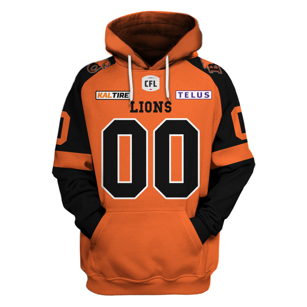 BC Lions Home Jersey