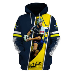 Johnathan Thurston ver1-Cowboy001 - HOT SALE 3D PRINTED - NOT IN STORE