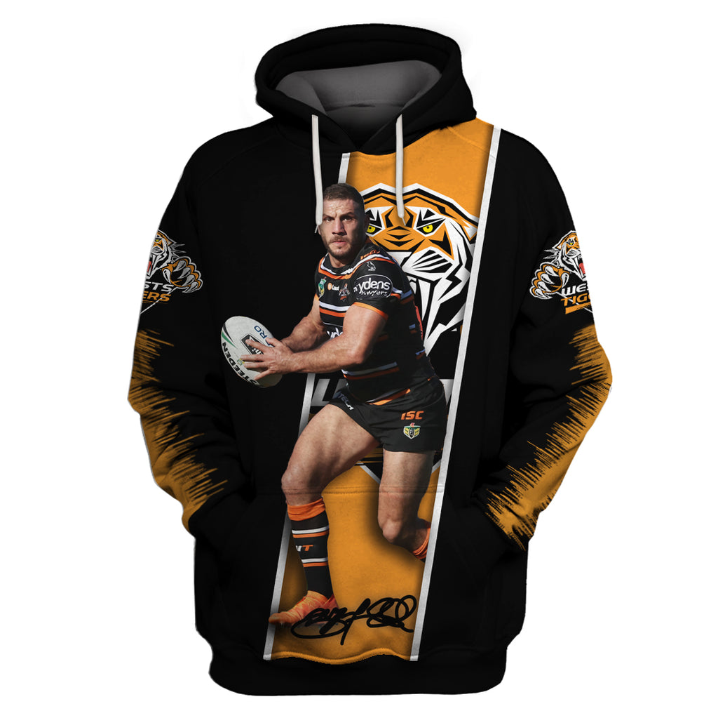Robbie Farah v3-NRLTiger004 - HOT SALE 3D PRINTED - NOT IN STORE