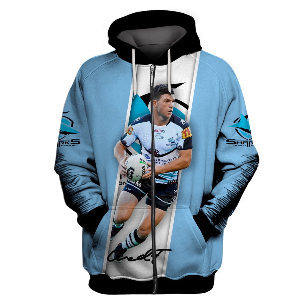 Chad Townsend-NRLShark004 - HOT SALE 3D PRINTED - NOT IN STORE