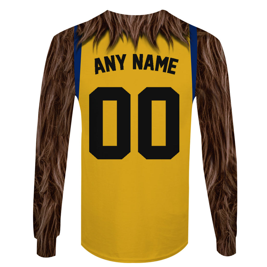 Teen Wolf - Customize Name & Number