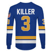 Image of Killer (#3) Blue Jersey