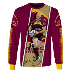 Darren Lockyer v1-NRLBB001 - HOT SALE 3D PRINTED - NOT IN STORE