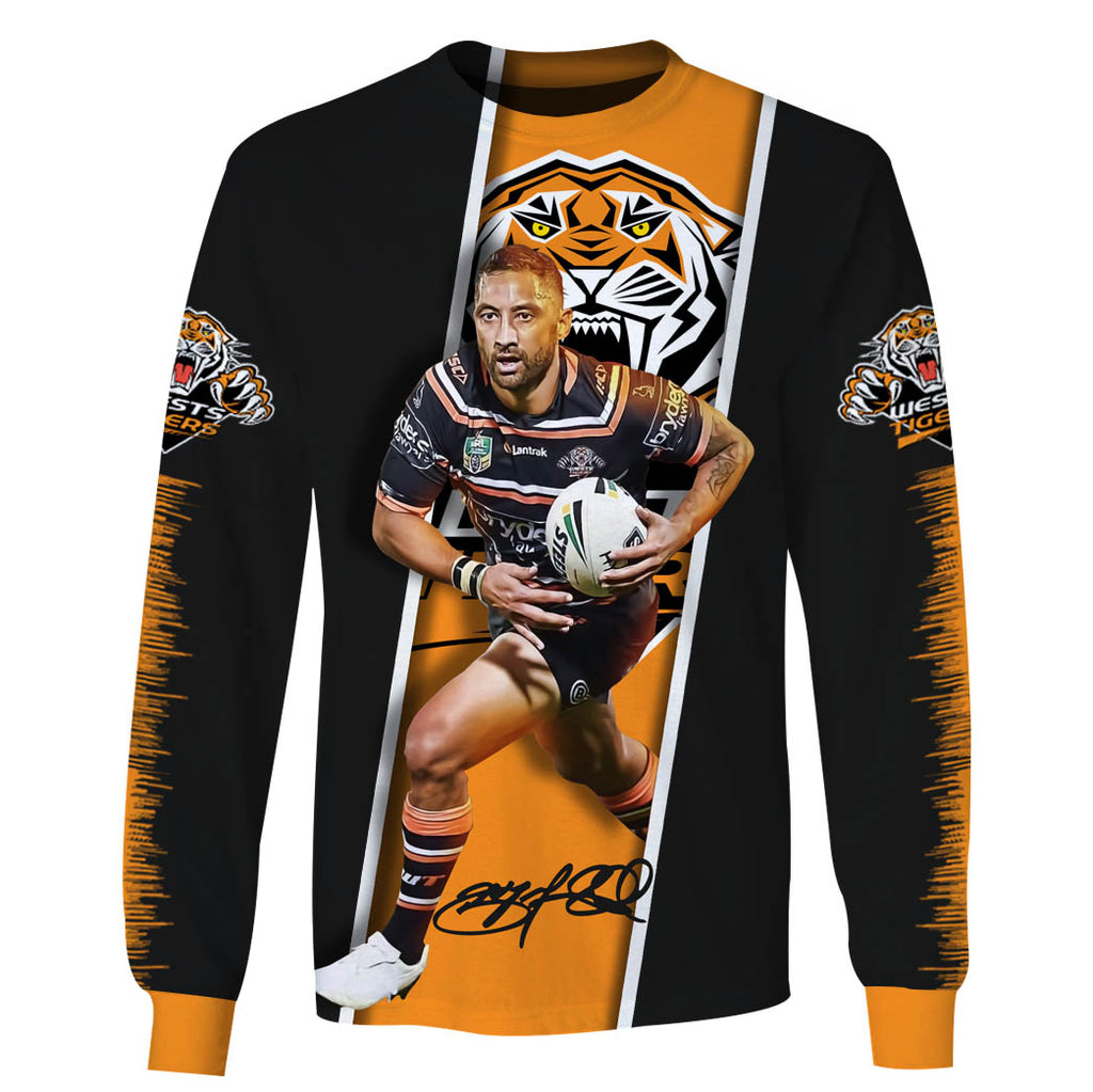 Benji Marshall-NRLTiger001 - HOT SALE 3D PRINTED - NOT IN STORE