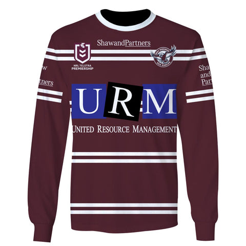 Manly Warringah Sea Eagles - Customize Name & Number
