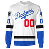Image of LA Kings Dodger Customize Name & Number - White Jersey
