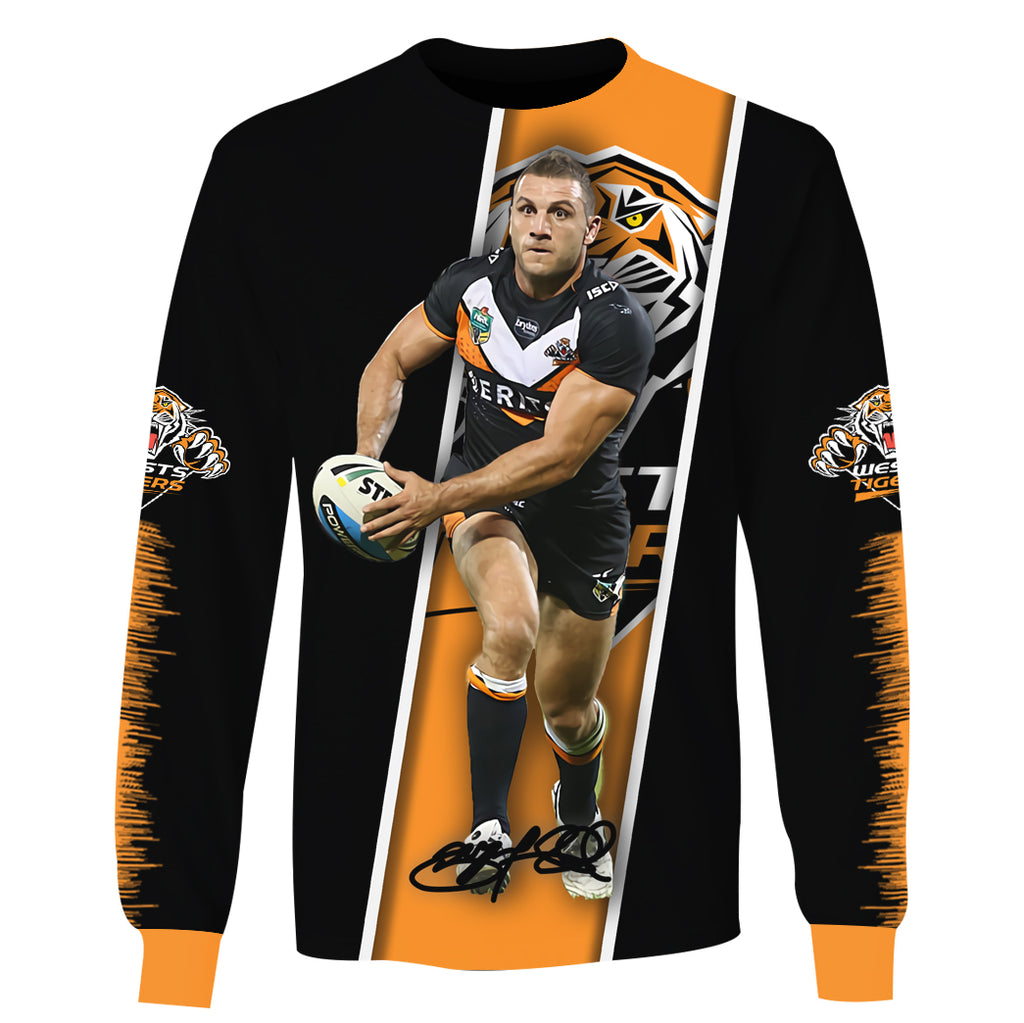 Robbie Farah v2-NRLTiger003 - HOT SALE 3D PRINTED - NOT IN STORE