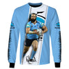Image of Aaron Woods-NRLShark003 - HOT SALE 3D PRINTED - NOT IN STORE