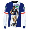 Image of Roger Tuivasa ver 2-NRLNZW002 - HOT SALE 3D PRINTED - NOT IN STORE