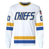 Image of SLAP SHOT MOVIE - CHIEFS WHITE