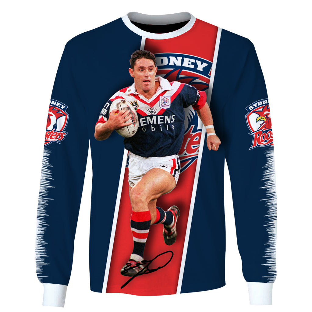 Brad Fittler-NRLSR004 - HOT SALE 3D PRINTED - NOT IN STORE