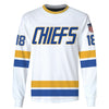 Image of Hanson Brothers #18 White
