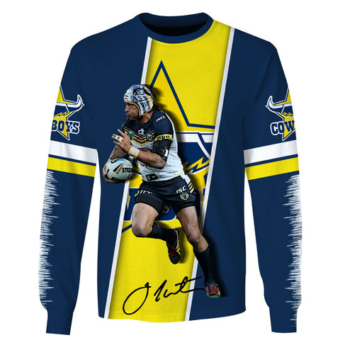 Johnathan Thurston ver4-Cowboy004 - HOT SALE 3D PRINTED - NOT IN STORE