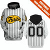 Image of The Baseball Furieus - Customize name & number